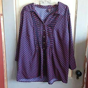 Button down blouse